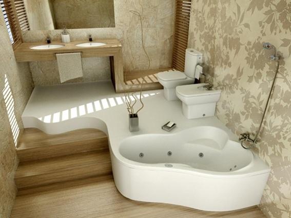Diseno De Baño Grande:Fabulosos Diseños de Baños con Tina o Bañera