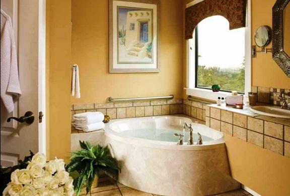 Decoracion Baño Con Tina:Fabulosos Diseños de Baños con Tina o Bañera