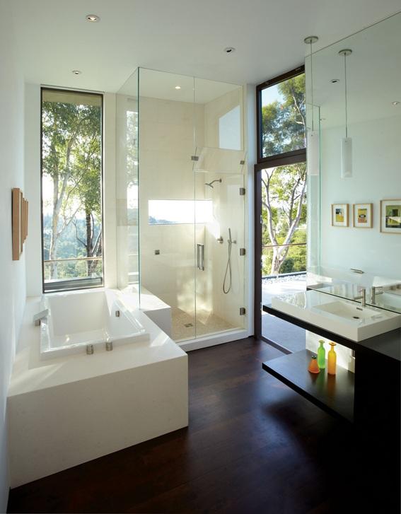 Baños Elegantes Con Tina: de baños con tina o bañera muy bonitos y de diferentes estilos