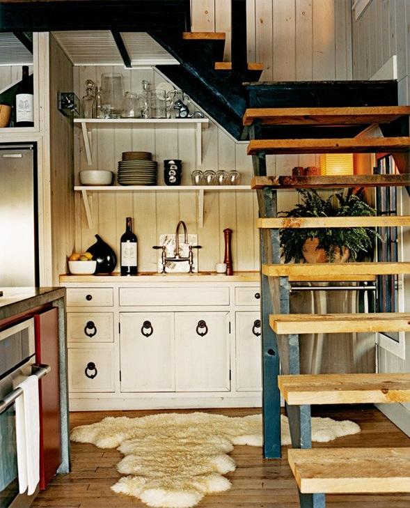 diseos de cocinas bajo la escalera
