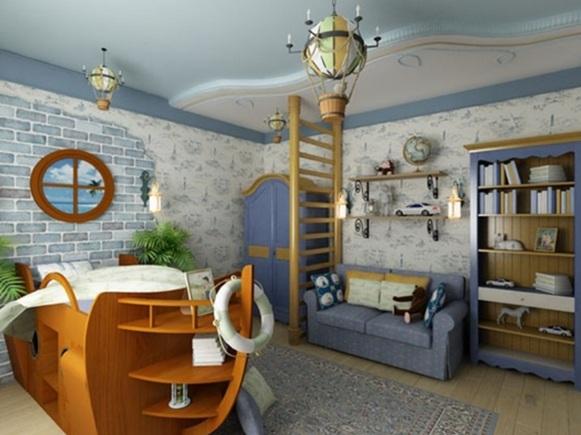 Dormitorios para ni os estilo marinero - Detalles de decoracion para casa ...