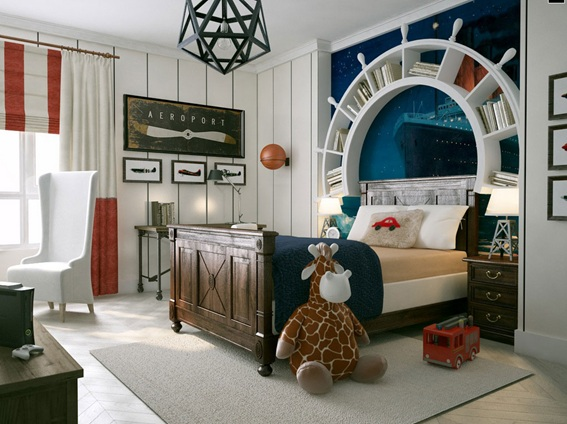 Dormitorios para ni os estilo marinero for Poco einrichtung
