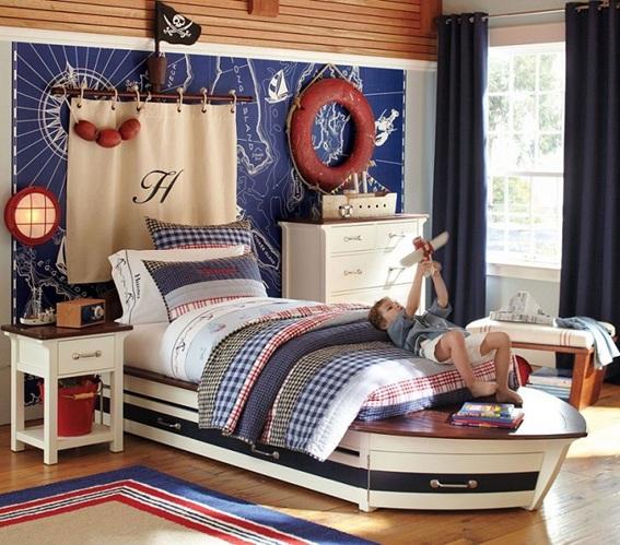 Dormitorios Para Nios Estilo Marinero