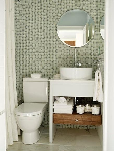 Ideas Para Decorar Baño Blanco: más diseños de baños para invitados o de visita pequeños