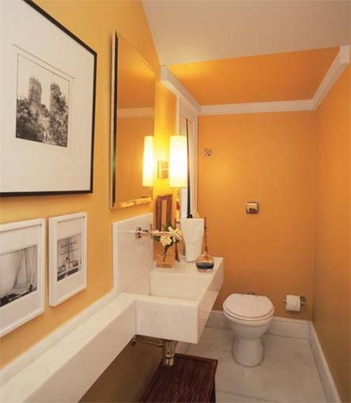Ideas Para Decorar Baño Blanco:16 Ideas para decorar tu Baño de Visitas Pequeño