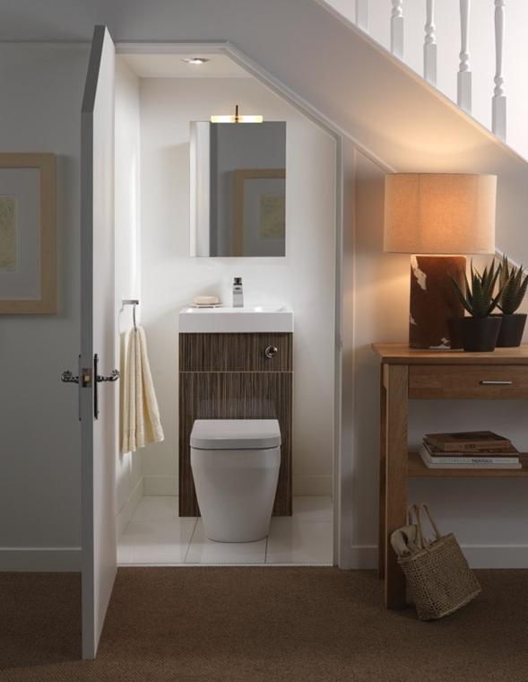 Baños Aseos Modernos:16 Ideas para decorar tu Baño de Visitas Pequeño