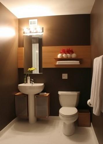 16 ideas para decorar tu baño de visita pequeño - Decoracion Bano De Visitas Pequeno