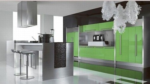Dise os de cocinas integrales modernas for Cocinas para apartaestudios