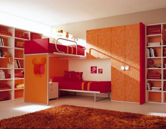 11 lindos dormitorios en color rojo - Muebles modulares dormitorio ...