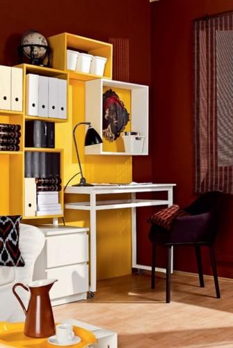 Decorar una oficina peque a en casa for Como decorar una recepcion de oficina pequena