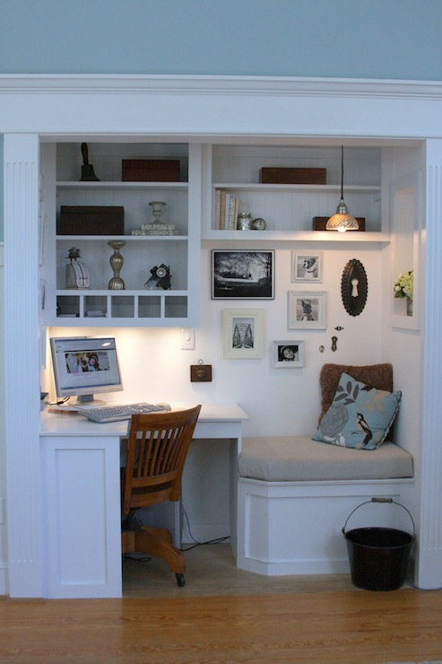 Decorar una oficina peque a en casa for Muebles para oficinas pequenas
