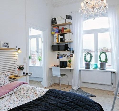 decorar una oficina peque a en casa. Black Bedroom Furniture Sets. Home Design Ideas