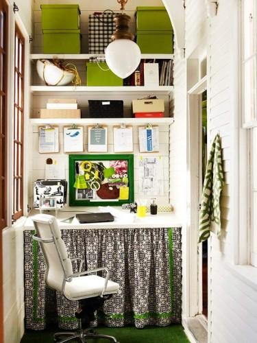 Decorar una oficina peque a en casa for Como ordenar una casa pequena