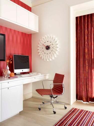 Decorar una oficina peque a en casa for Red de una oficina
