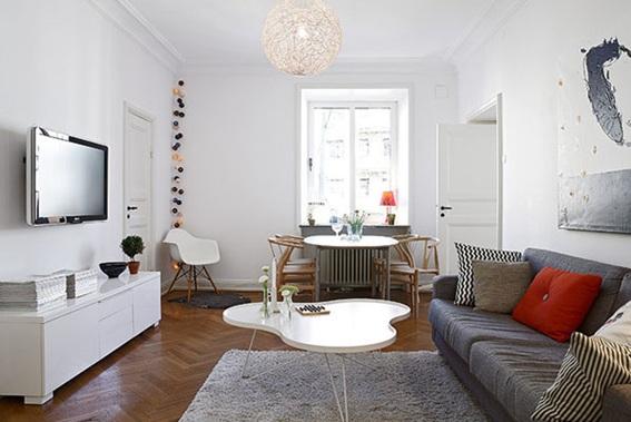 26 hermosas y acogedoras salas estilo escandinavo for Casas estilo nordico