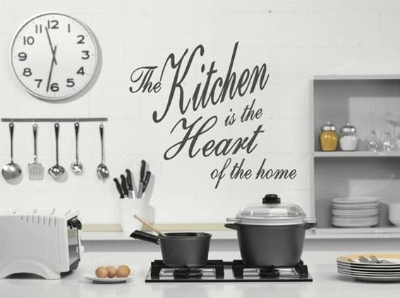 Ideas para decorar las paredes de tu cocina for Paredes de cocina decoradas