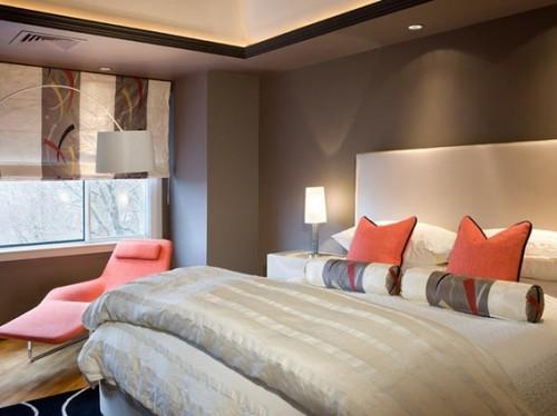 dormitorio-gris-coral