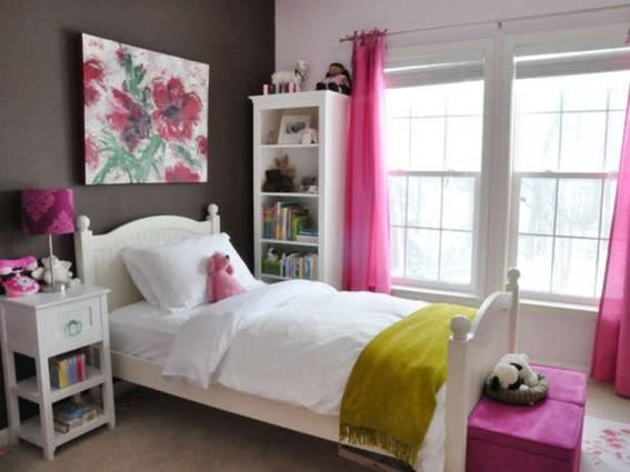 20 dormitorios decorados con gris for Dormitorio lila y gris