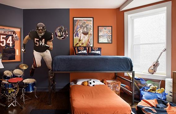 Dormitorios azules y verdes: refrescantes diseños de salas en ...