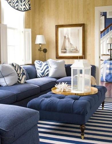 sala-decorada-sofá-azul-3