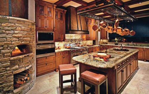 Fotos de cocinas estilo r stico for Cocinas rusticas de madera