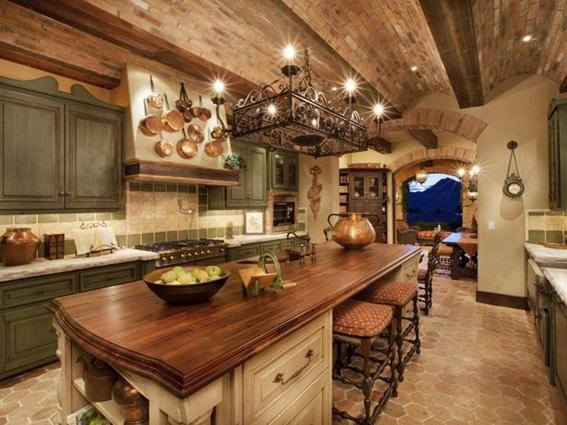 Fotos de cocinas estilo r stico - Cocinas estilo rustico ...
