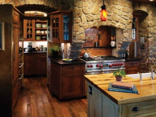 cocina-estilo-rústico