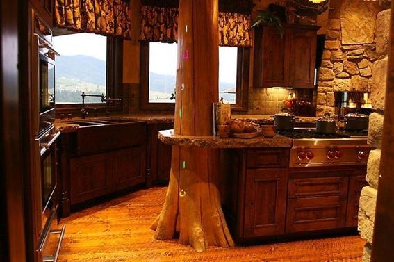 Fotos de cocinas estilo r stico for Barras de cocina rusticas