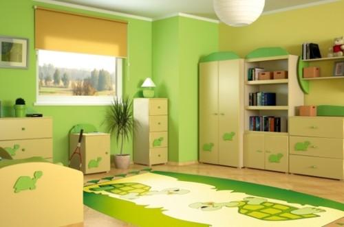dormitorio-infantil-decorado-verde-1