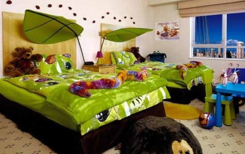 dormitorio-infantil-decorado-verde-6