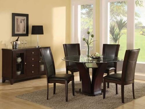 13 comedores decorados con mesa redonda para el hogar - Comedores decorados modernos ...