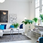 Salas Decoradas con Plantas