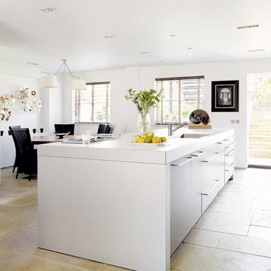 Cocinas Modernas En Color Blanco Pictures To Pin On Pinterest