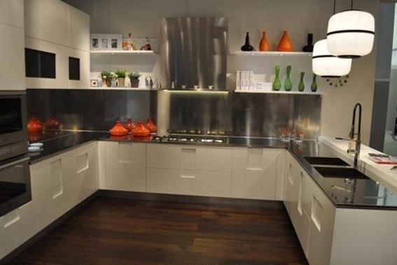 Kitchen Accessory Design Ideas ~ Cocinas modernas con gabinetes color blanco