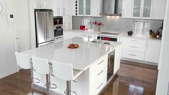 Estilo moderno for Cocinas modernas para espacios pequenos