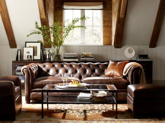 masculine decorating ideas living room 23 ideas para decorar salas masculinas 19132