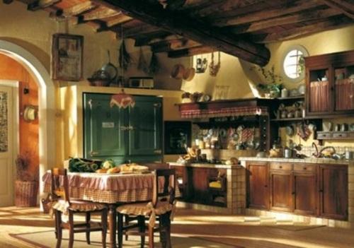Hermosos dise os de cocinas francesas antiguas - Fotos de cocinas antiguas ...