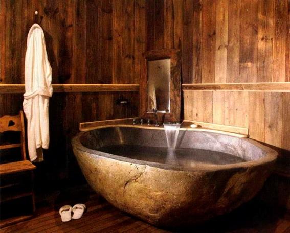 Baños Rusticos Disenos:21 Ideas para Decorar Baños Rústicos