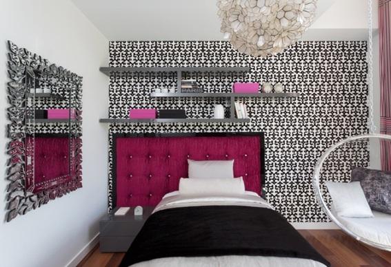 15 dormitorios con espejos for Espejos modernos para habitaciones