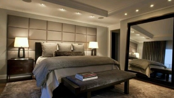 dormitorios decorados con espejos