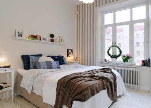 17 c modos y acogedores dormitorios escandinavos for Dormitorios comodos