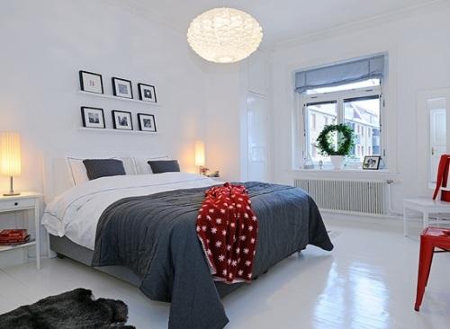 17 c modos y acogedores dormitorios escandinavos - Lamparas para dormitorios infantiles ...