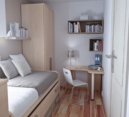 Dormitorios peque os decorados para chicos adolescentes for Cuartos pequenos decorados para jovenes hombres