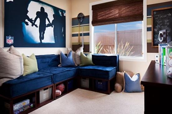Dormitorios peque os decorados para chicos adolescentes for Departamentos decorados para hombres