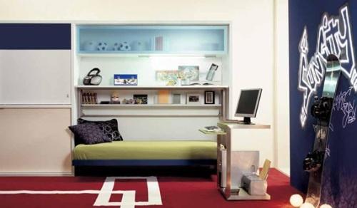 Dormitorios peque os decorados para chicos adolescentes - Decoracion dormitorios juveniles masculinos ...