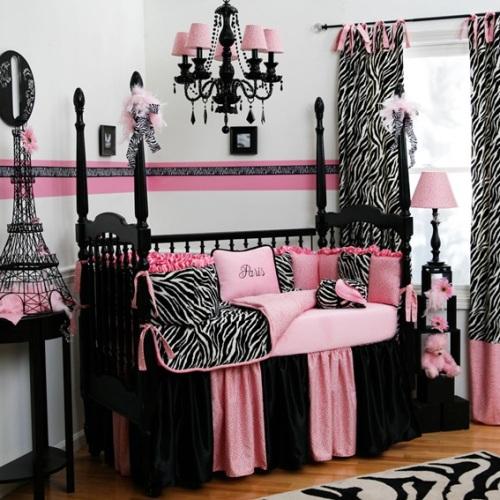 dormitorio infantil cebra