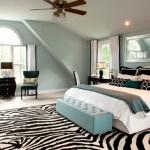 18 Dormitorios Decorados con Estampados de Cebra