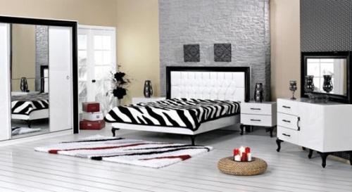 dormitorio matrimonial cebra