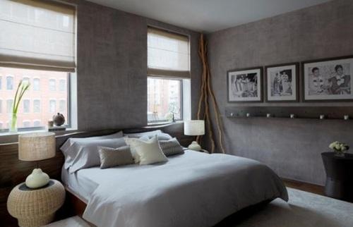dormitorio pareja colores neutros