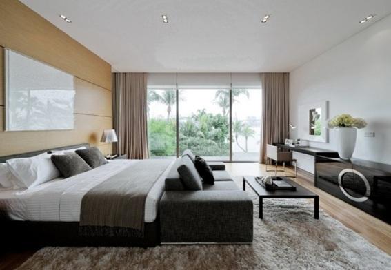 20 dormitorios de pareja decorados en tonos neutros for Dormitorios para matrimonios jovenes